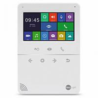 Цветной видеодомофон Neolight Tetta с 4,3 дюймовым экраном Белый