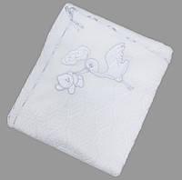 Плед, конверт, крыжма для новорожденных на махре
