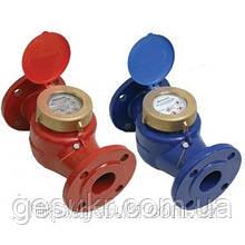 Счетчик WPK-UA Ду 50 Ру 16 горячей воды (фланцевый турбинный)