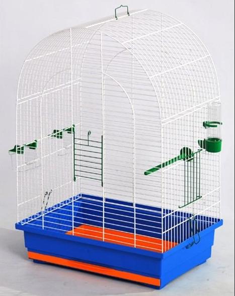 Клітка Люсі для середніх  птахів, 47*30*67 см