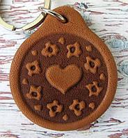 Брелок Серце з візерунком, фото 1