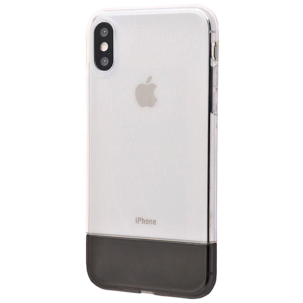 Чехол Baseus Half to Half soft Case (TPU) iPhone Xs Max