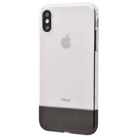 Чехол Baseus Half to Half soft Case (TPU) iPhone Xs Max, фото 2