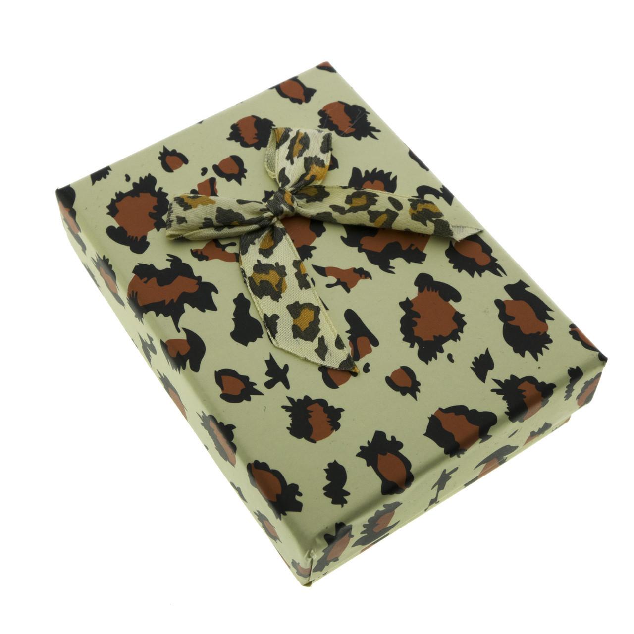 """Коробочка под набор """"Леопард"""""""