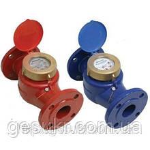 Счетчик WPK-UA Ду 100 Ру 16 горячей воды (фланцевый турбинный)