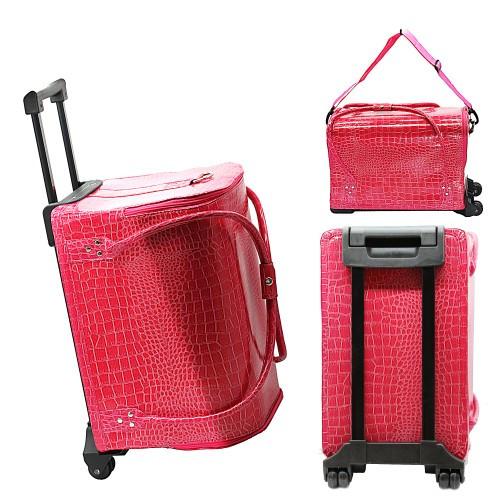 Сумка-чемодан на колёсах для мастера маникюра/парикмахера/визажиста