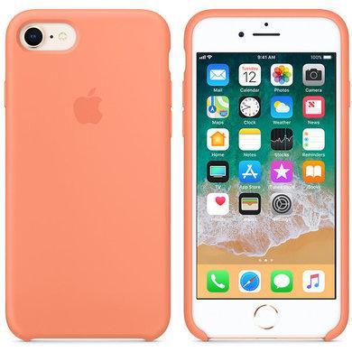 "Apple silicon case iPhone 7/ iPhone 8  "" Peach """