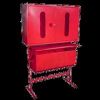 Стенд пожарный закрытого типа с опрокид. ящиком