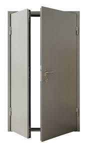 Двери противопожарные El-30/60 огнестойкие двухстворчатые 1160*2050