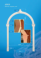 Арки гіпсові, гіпсові арки, міжкімнатні арки, круглі арки, арки гипсовые, арки межкомнатные, круглые арки.