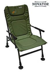 Кресло карповое Novator SF-1 | Складное кресло туристическое | Год гарантии от производителя!
