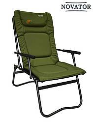 Карповое кресло Novator SF-4 | Складное кресло туристическое | Год гарантии от производителя!