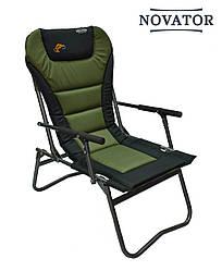 Кресло рыболовное Novator SF-4 Comfort | Складное кресло туристическое | Год гарантии!