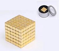 Тетракуб 216 магнитных кубиков 5мм, неокуб игрушка головоломка Neocube в боксе, Магнитный конструктор, подарок