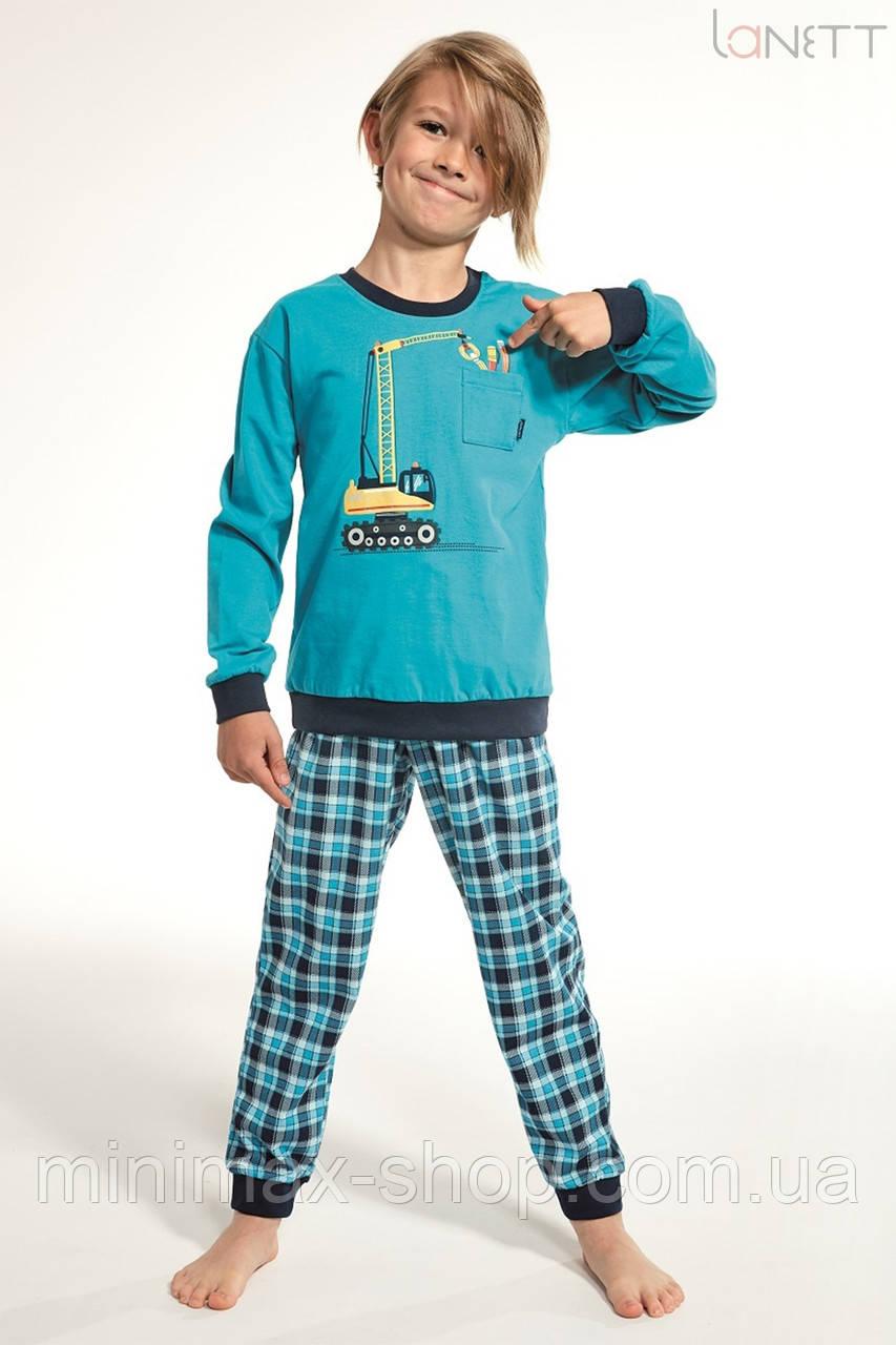 Пижама детская хлопковая CRANE 255-19 CORNETTE Польша 2019