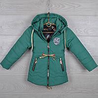 """Куртка детская демисезонная """"NY"""" 3-4-5-6-7 лет (98-122 см). Зеленая. Оптом., фото 1"""