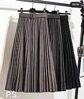 Шикарные женские юбки плиссе Рр 44 - 50 Разные цвета