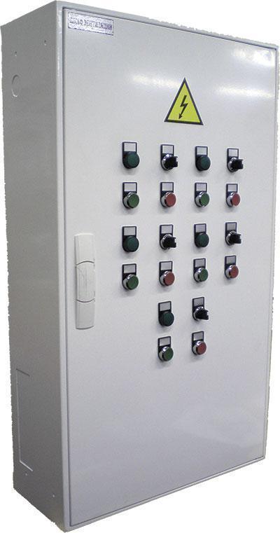 Шкаф управления вентсистемами (ШУВ) 5,5кВт+7,5кВт+18,5кВт