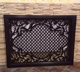 Декоративная решетка на радиатор, екран для батареи, короб на радиатор