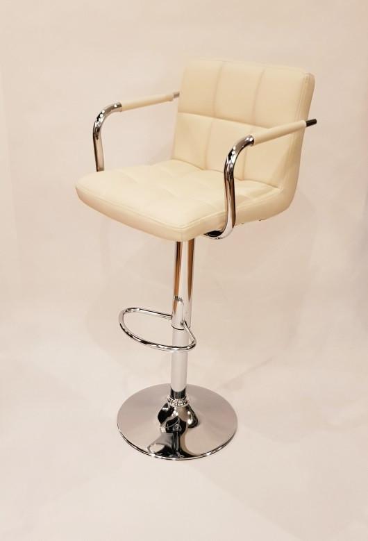Барный стул Hoker ASTANA. Цвет бежевый.