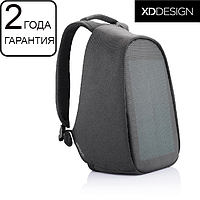 """Оригинал! Антивор рюкзак с солнечной панелью XD Design Bobby Tech Anti-theft backpack 15,6"""" черный (P705.251)"""