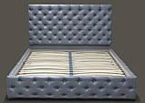 Кровать Каретка в мягкой обивке, фото 3