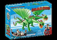 """Playmobil 9458 Забияка и Задирака """"Как приручить дракона 3"""""""