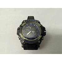 Кварцевые спортивные Наручные Часы G-Shock 2 protection Чёрно-синие, фото 1