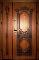 Купить входные двери дуб золотой патина