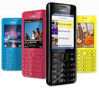 Мобильный телефон Nokia 206 Dual Sim Black