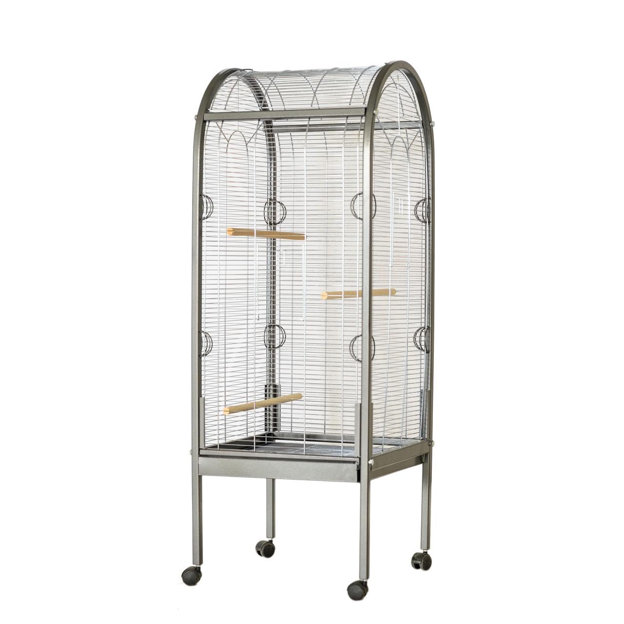 Большая клетка, вольер для попугаев Bird House XL  56х56х157