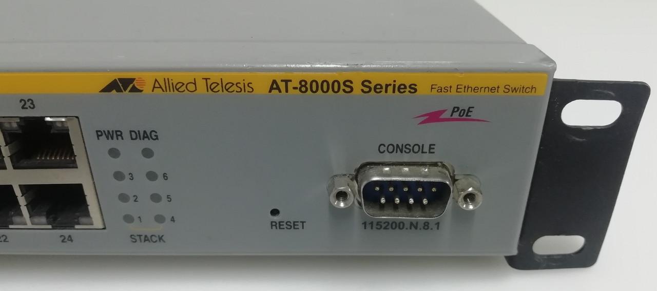 Комутатор стієчний Allied Telesyn AT-8000S/24POE