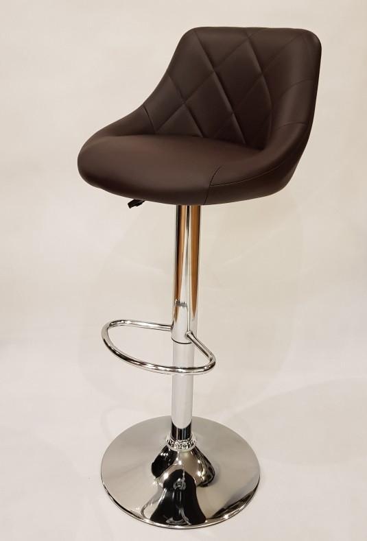 Барный стул Hoker TOLEDO. Цвет коричневый.