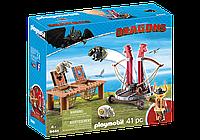 """Playmobil 9461 Плевака и Вепр """"Как приручить дракона"""""""