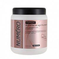 Маска для придания волосам блеска с ценными маслами Brelil Numero, 1000 мл.