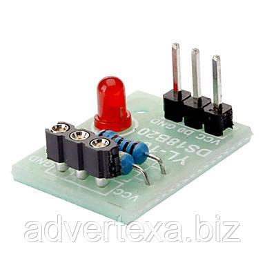 Модуль для подключения датчика DS18B20 к Arduino