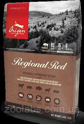 Сухий корм Orijen для кішок   Orijen Regional Red Cat 0,34 кг