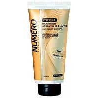 Питательная маска для волос с экстрактом Карите и авокадо Brelil Numero, 300 мл.