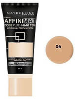 Тональный крем Maybelline Affinimat SPF 17 В наличии №6 - поштучно  /1118 (16MN00)