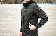 Ветровка мужская Soft Shell X khaki куртка весенняя / осенняя