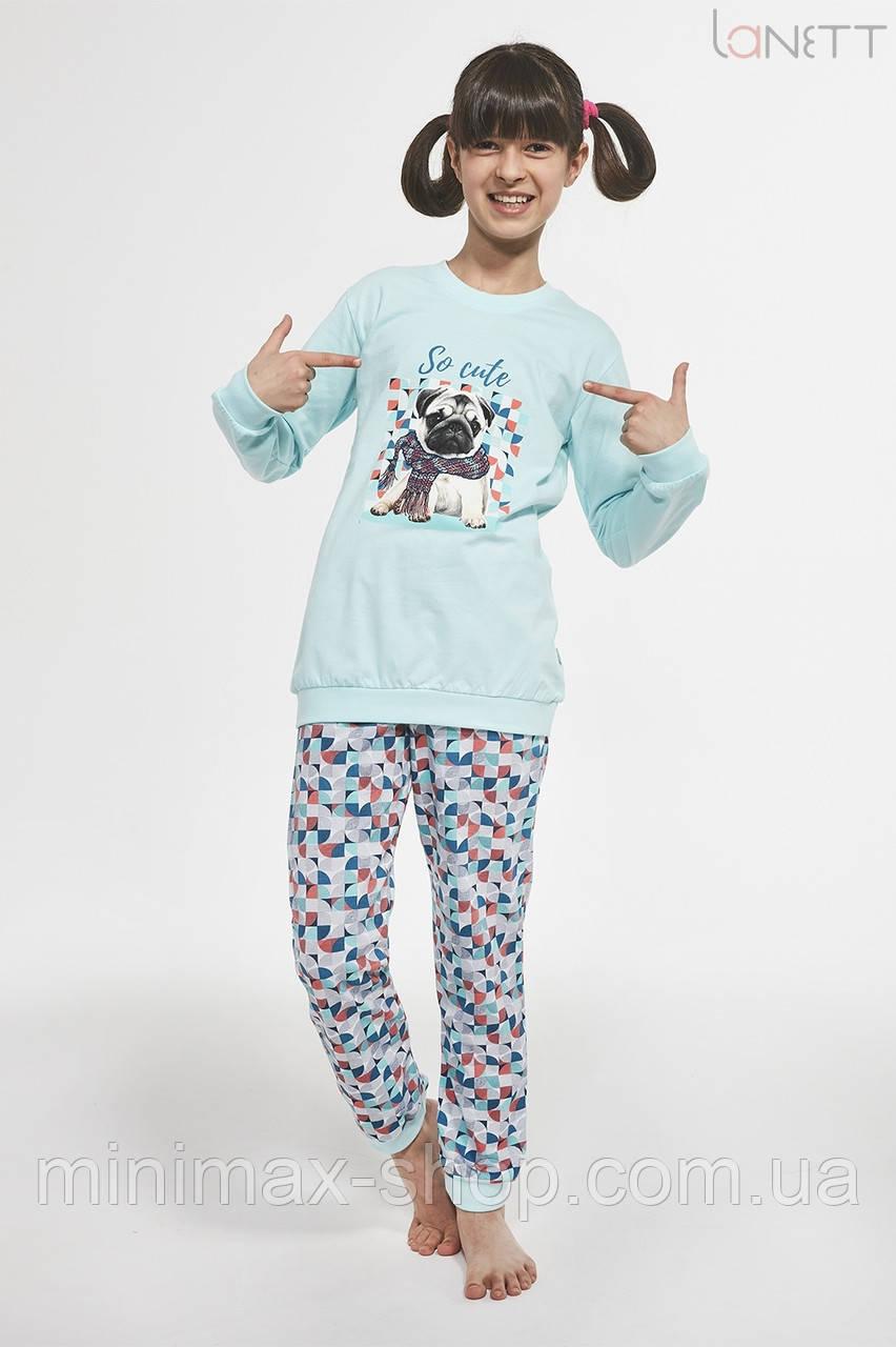 Пижама подростковая хлопковая SO CUTE 592-19 CORNETTE Польша 2019