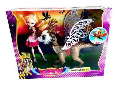 Лялька Ever After High Эппл Вайт з Драконом