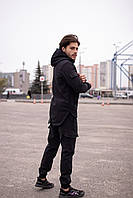 Спортивный костюм мужской Soft Shell Х black / осенний весенний Куртка + Штаны ТОП качество