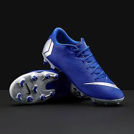 Футбольные бутсы Nike VAPOR 12 Academy AH7375-400 FG/MG (Оригинал)