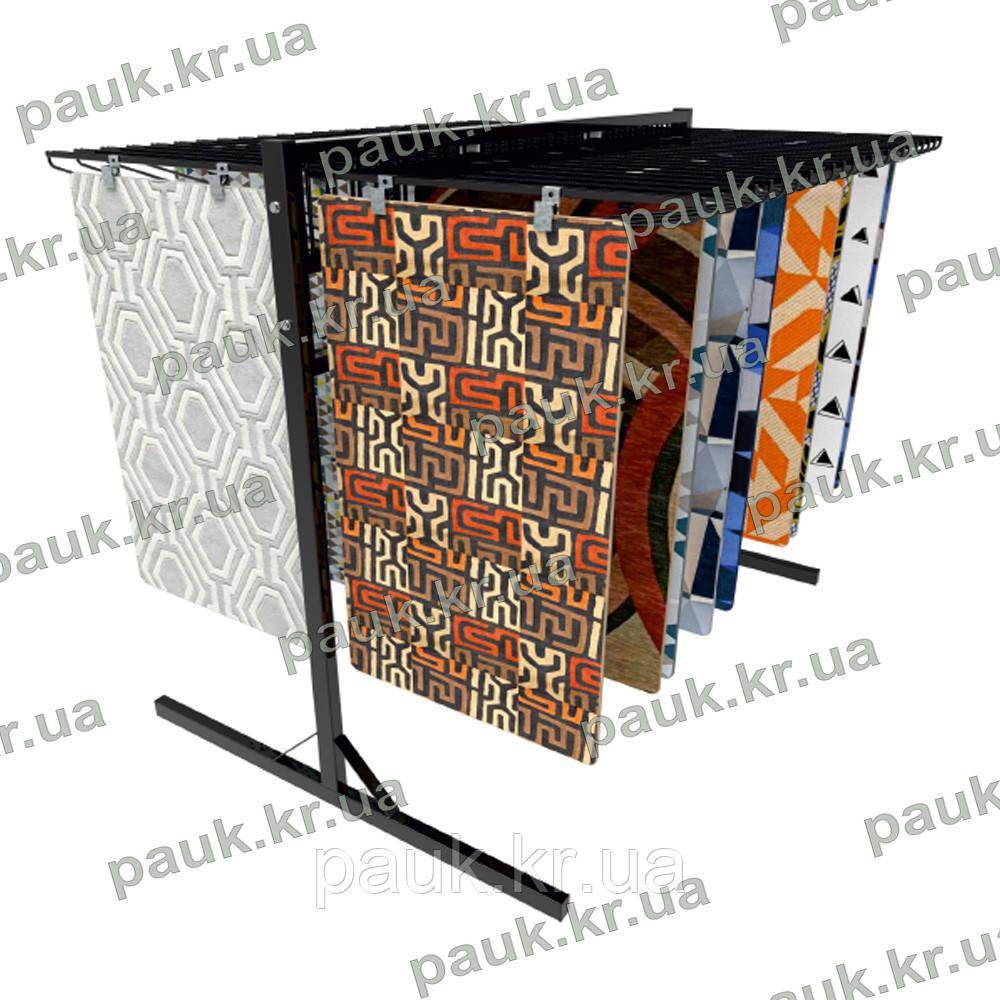 Стійка для середніх килимів, експозитор для зразків килимів EE-CR4
