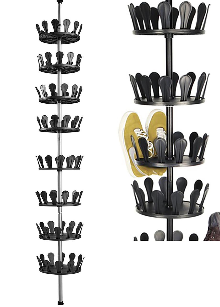 Телескопическая полка для обуви Livarno living 2,4-2,8х0,26м