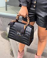 Кожаные сумки производства италии реплика  Валентино в натуральной коже Италия