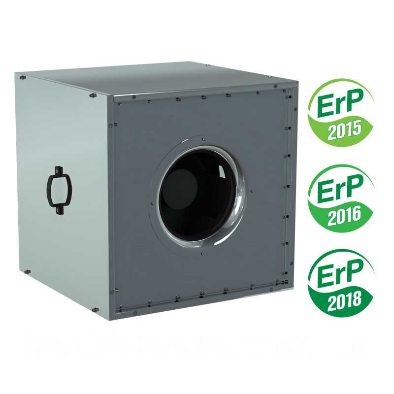Шумоизолированный канальный вентилятор вентс ВШ 500-4Д