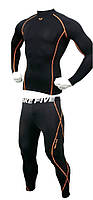 Рашгард и штаны Take Five с оранжевой строчкой с оранжевой строчкой 52