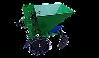 Картофелесажалка мотоблочная однорядная П-1ЦУ (зеленая), фото 1